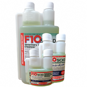 F10SCXD Veterinary Disinfectant/Cleanser - from £10.99